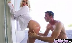 Wet Oiled Big Ass Girl Get Deep Nailed On Cam movie-24
