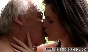 Ass licking and cock sucking first time Horny senior Bruce c