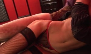 blowjob, brunette, busty, domination, facial, fetish