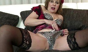 Elderly but still super-fucking-hot killer grandma porn video