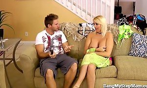 blonde, cheating wife, stepson