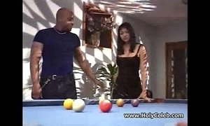 Huge titted Asian whore nailed black hard sex