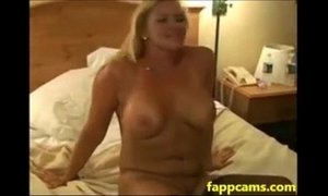 81-blonde slutwife takes double bbc creampie