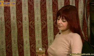 Drunk Amateur Couple Have Wild Fun Fully Naked On The Bed