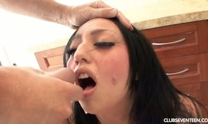 Sinful Mexican chick Milla Mason is fucked by one horny dude