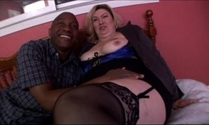 Big tit blonde mature milf banging in Amateur BBW Video